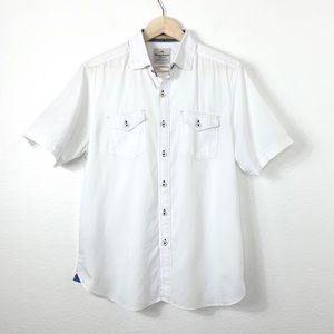 Tommy Bahama Jeans Crafted Short Sleeve Shirt Sm